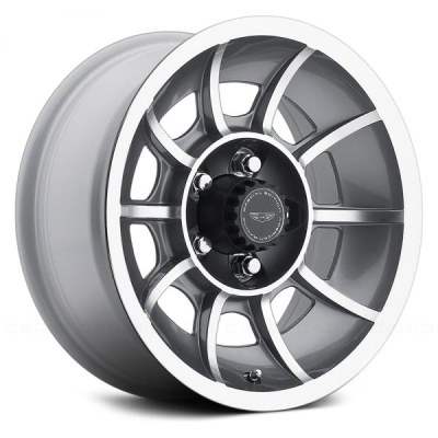 VN47 VECTOR ANTHRACITE GRAY W/ MACHINED FACE