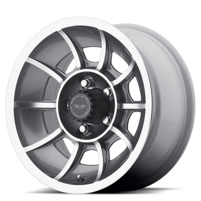 VN47 VECTOR (VN0473) ANTHRACITE GRAY MACHINED FACE