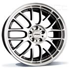 ASA Wheels AR1 9.00X18 5X112 ET35.0 NB72.5 zwart glanzend / gepolijst