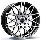 ASA Wheels GT4 8.50X18 5X120 ET35.0 NB72.5 zwart / front gepolijst