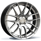 BE Wheels GTS-AV 8.00X18 5X112 ET45.0 NB66.5 Hyper Silver