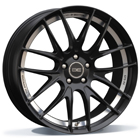 BE Wheels GTS-AV 8.00X18 5X112 ET45.0 NB66.5 Matt Black