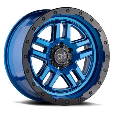 BARSTOW DEARBORN BLUE W/BLACK LIP EDGE