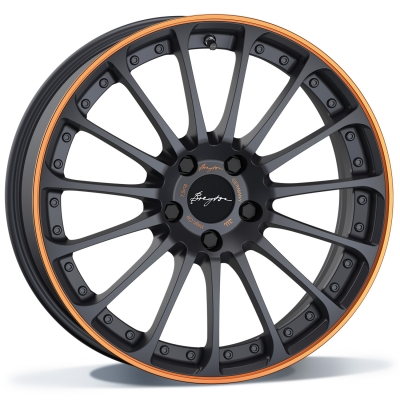 Breyton MAGIC CW MATT GREY WITH ORANGE ANODIZED LIP