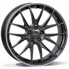 Breyton Race GTX 8.50X20 5X112 ET30.0 NB66.5 BR5Matt Black with Polished Lip