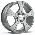 Carmani CA11 Rush 6.50X16 5X112 ET49.0 NB66.6 H5crystal silver