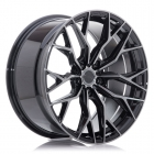 Concaver Wheels CVR1 9.00X22 Blanco ET10.0 NB74.1 Double Tinted Black