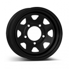 Dotz Dakar dark 7.00X15 6X139.7 ET12.0 NB110.0 Black