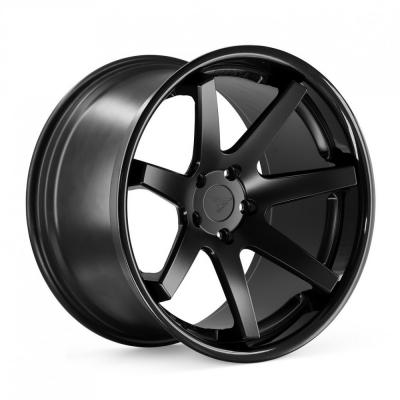 Ferrada by Wheelpoint FR1 MATTE BLACK / GLOSS BLACK LIP