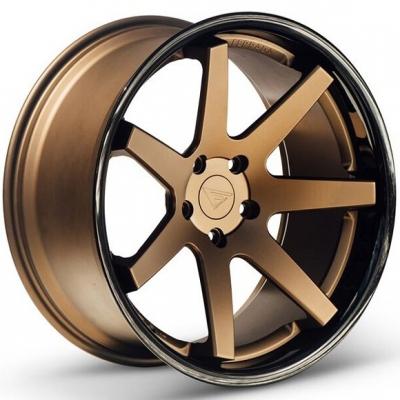 Ferrada by Wheelpoint FR1 MATTE BRONZE / GLOSS BLACK LIP