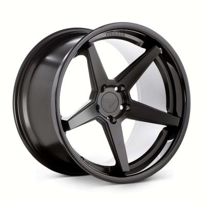 Ferrada by Wheelpoint FR3 MATTE BLACK / GLOSS BLACK LIP