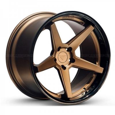 Ferrada by Wheelpoint FR3 MATTE BRONZE / GLOSS BLACK LIP