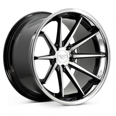 Ferrada by Wheelpoint FR4 MACHINE BLACK / CHROME LIP