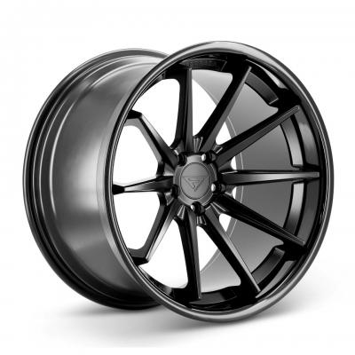 Ferrada by Wheelpoint FR4 MATTE BLACK / GLOSS BLACK LIP