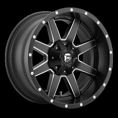 FC538 MAVERICK MATTE BLACK MILLED