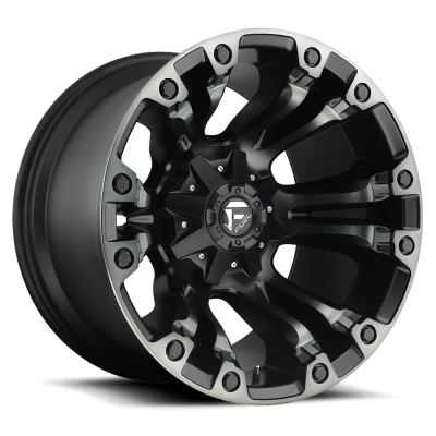 FC569 VAPOR MATTE BLACK DOUBLE DARK TINT