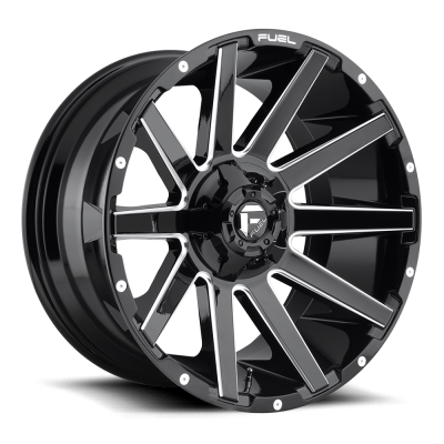 CONTRA (D615) GLOSS BLACK MILLED