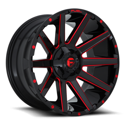 CONTRA (D643) GLOSS MILLED RED