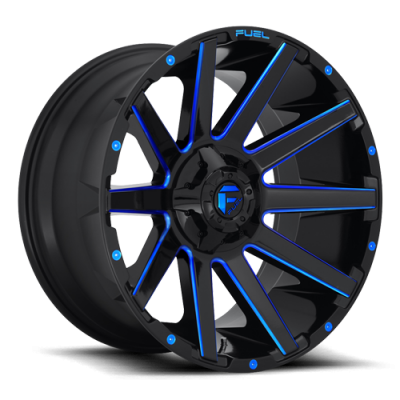 FC644 CONTRA GLOSS BLACK BLUE TINTED CLEAR