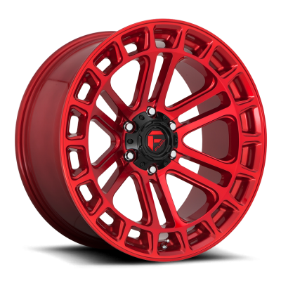 FC719 HEATER CANDY RED MACHINED