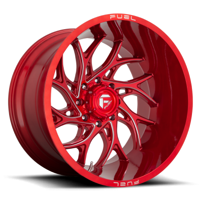 FC742 RUNNER CANDY RED MILLED