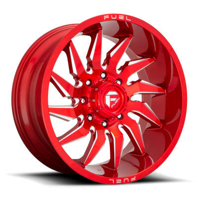 FC745 SABER CANDY RED MILLED