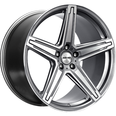 MK1 CONCAVE STRONG ANTHRACITE POLISHED