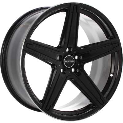 MK1 CONCAVE STRONG BLACK WITH POLISHED LIP