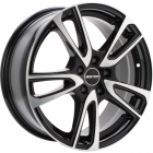GMP ASTRAL 6.50X16 4X100 ET40.0 NB57.1 Black polished