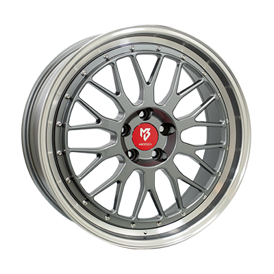 Inter-Tyre LV1 ANTRACIET / GEPOLIJST