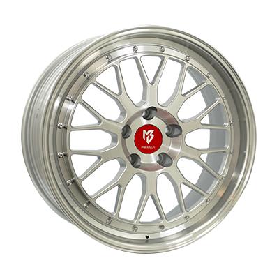 Inter-Tyre LV1 ZILVER / GEPOLIJST