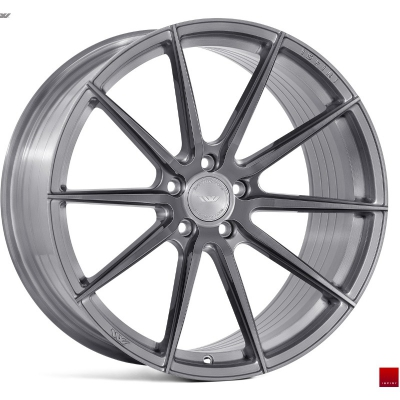 Ispiri by Wheelpoint FFR1 FULL BRUSHED CARBON TITANIUM
