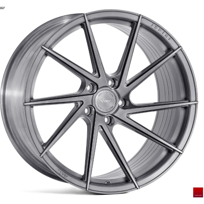 Ispiri by Wheelpoint FFR1D FULL BRUSHED CARBON TITANIUM