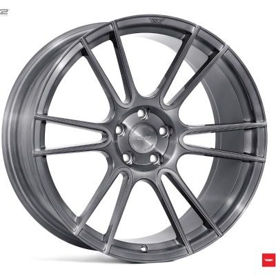 Ispiri by Wheelpoint FFR7 FULL BRUSHED CARBON TITANIUM