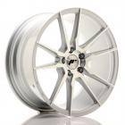 JR wheels JR21 9.00X22 Blanco ET30.0 NB74.1 Silver Machined
