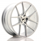 JR wheels JR30 9.00X21 Blanco ET20.0 NB74.1 Silver Machined