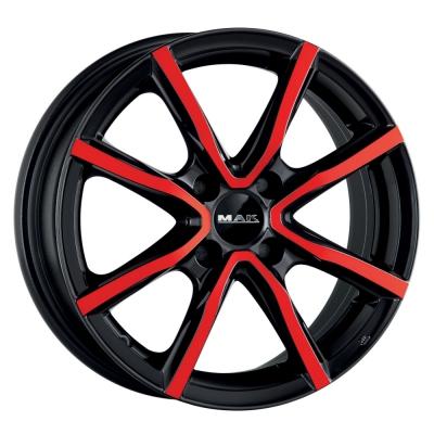 MILANO4 BR BLACK&RED
