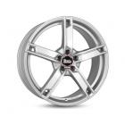 MAM W4 6.50X16 5X114.3 ET38.0 NB72.6 silver painted