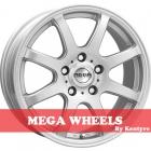 Mega Wheels by Kentyre Hastera 5.00X13 4X114.3 ET35.0 NB73.2 silver