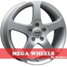Mega Wheels by Kentyre Indus 5.00X13 4X98 ET35.0 NB73.2 silver