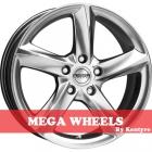 Mega Wheels by Kentyre Tigera 7.50X17 5X114.3 ET38.0 NB73.2 hyper black