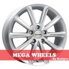 Mega Wheels by Kentyre Virgo 6.50X16 5X108 ET47.0 NB73.2 silver