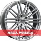 Mega Wheels by Kentyre Volans 7.00X16 5X120 ET40.0 NB72.6 hyper silver
