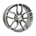 Mille Miglia MM039 7.50X17 5X112 ET45.0 NB66.4 Antraciet / Gepolijst