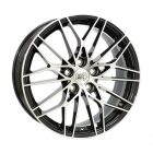 Mille Miglia M1015 9.00X19 5X112 ET44.0 NB66.6 Zwart Glans / Gepolijst
