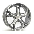 Mille Miglia MM049 8.50X20 5X110 ET31.0 NB65.1 Antraciet Mat / Gepolijst