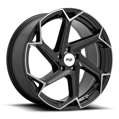 M255 FLASH GLOSS BLACK WITH BRUSHED FACE