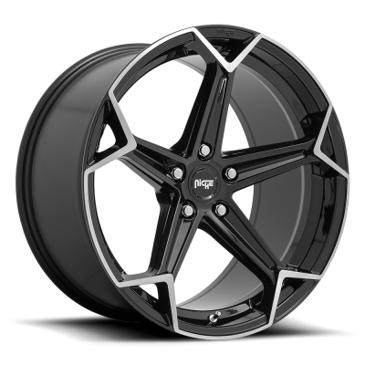 N259 ARROW GLOSS BLACK & BRUSHED