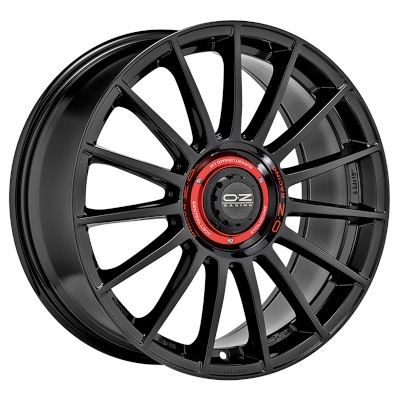 SUPERTURISMO EVOLUZIONE GLOSS BLACK+RED LET.