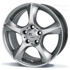 RC Design RC13 6.50X15 5X114.3 ET42.0 NB72.6 W4Chroom zilver (CSS)